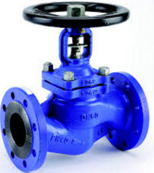 TPF304L CF8M BODY Bellow Globe Valve TRIM , Gear Operated Globe Valve